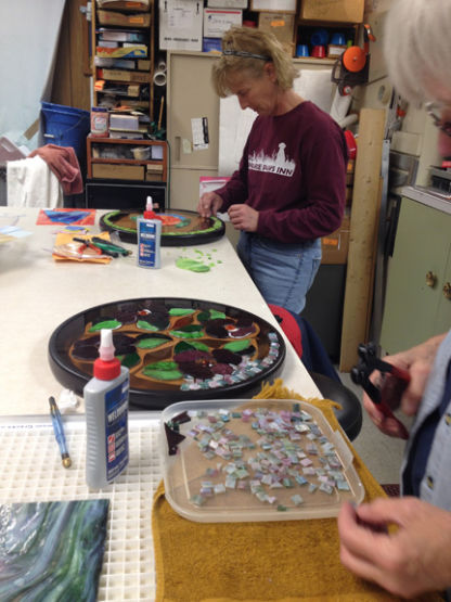 Mosaic table class 2