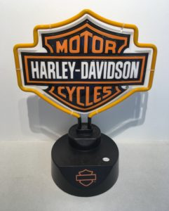 Complete your man cave with this Harley-Davidson Shield neon light!