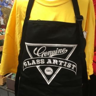 Genuine Glass Artist Apron - Black