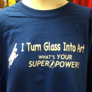 Super Power TShirt - Blue