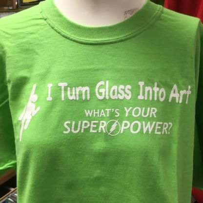 What's Your Super Power Tshirt - Green