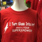 What's Your Super Power Tshirt - Red