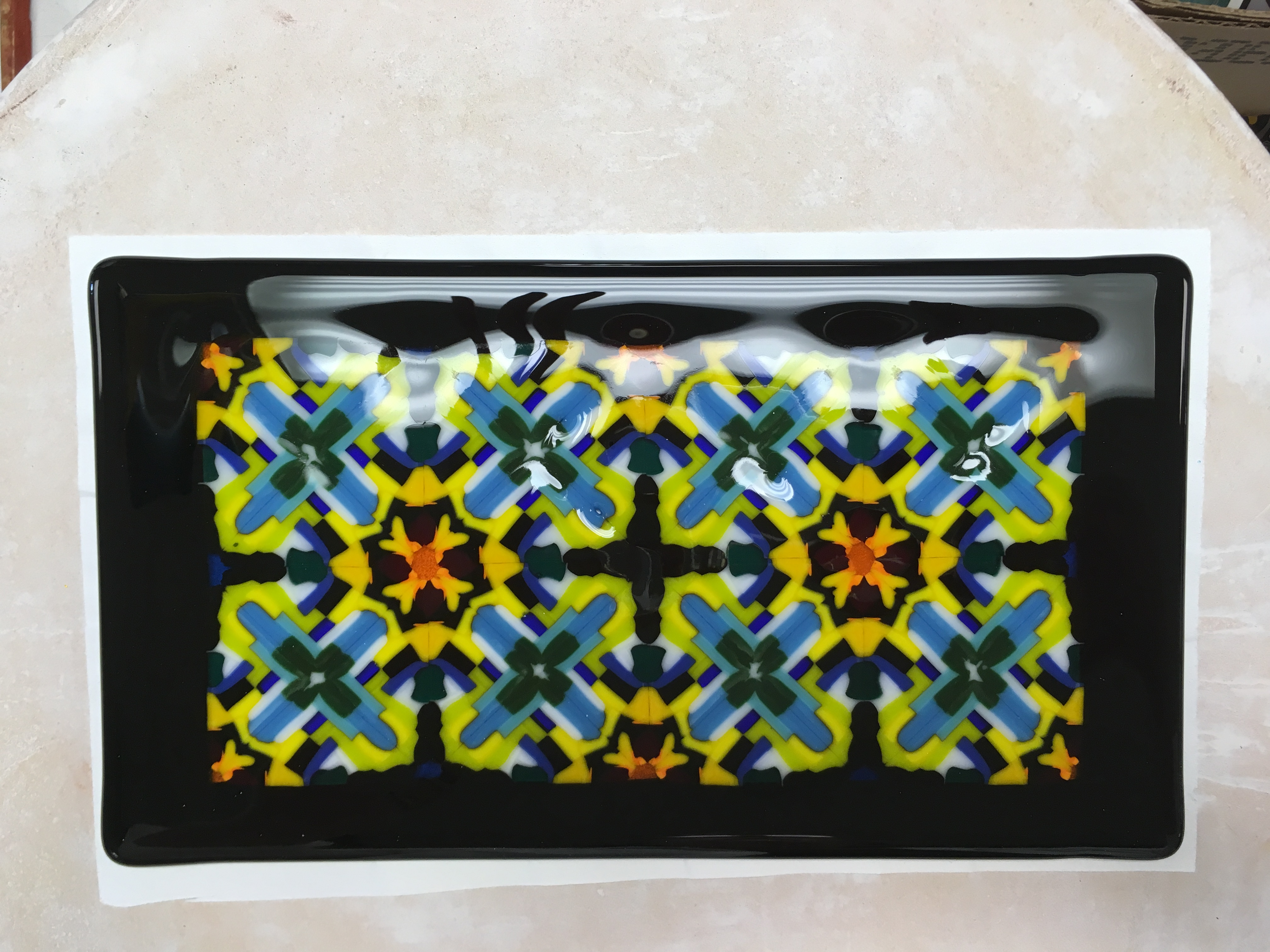 Finished Project - Pattern Bar Plate Class