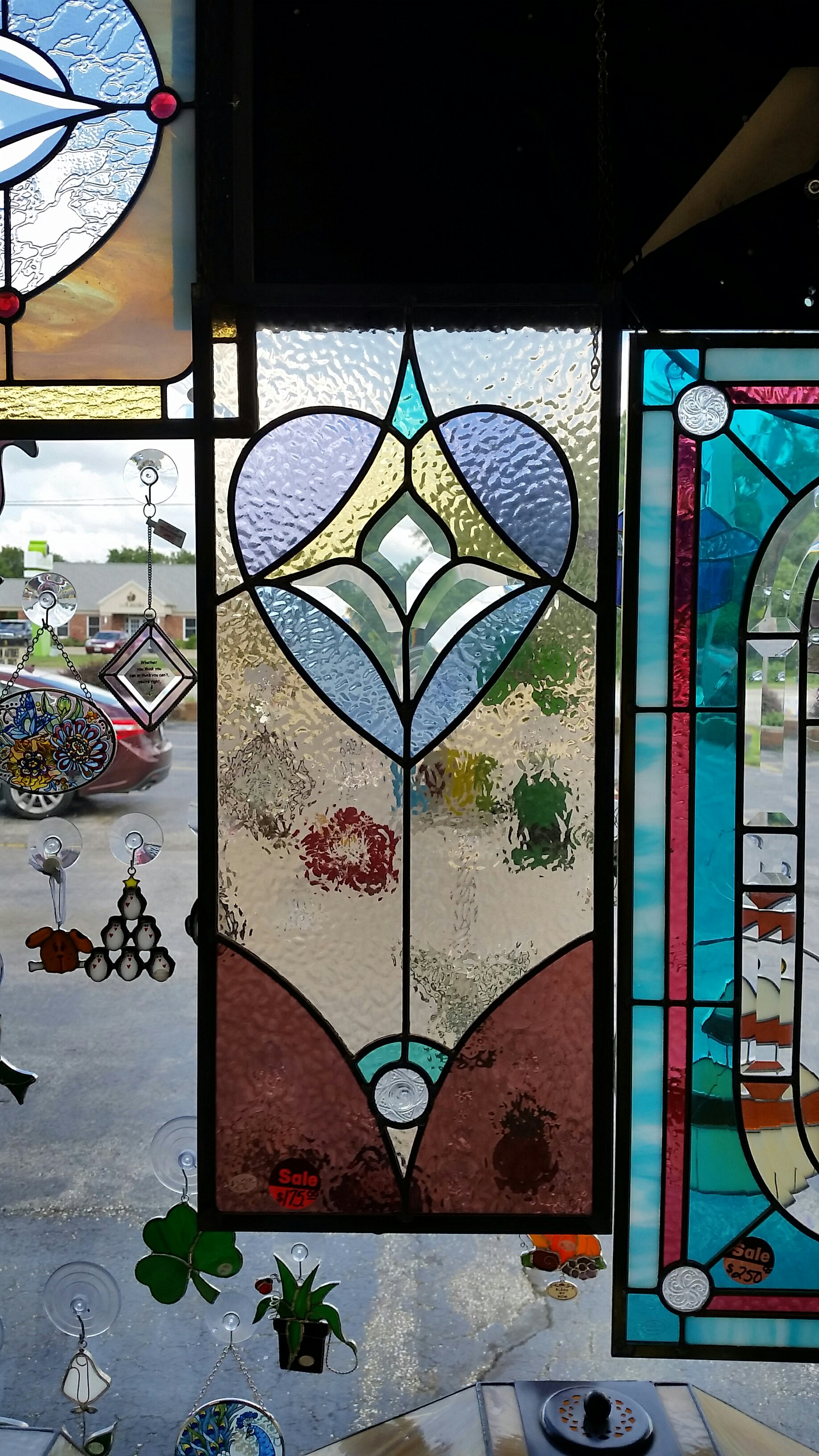 Stained Glass Panels and Suncatchers